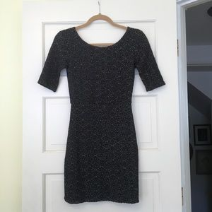 Free People Patterned Body Con Dress